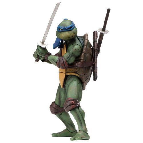 Figura Leonardo Movie 1990 Tortugues Ninja 18cm