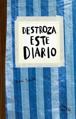 Libro Destroza este diario. Azul.