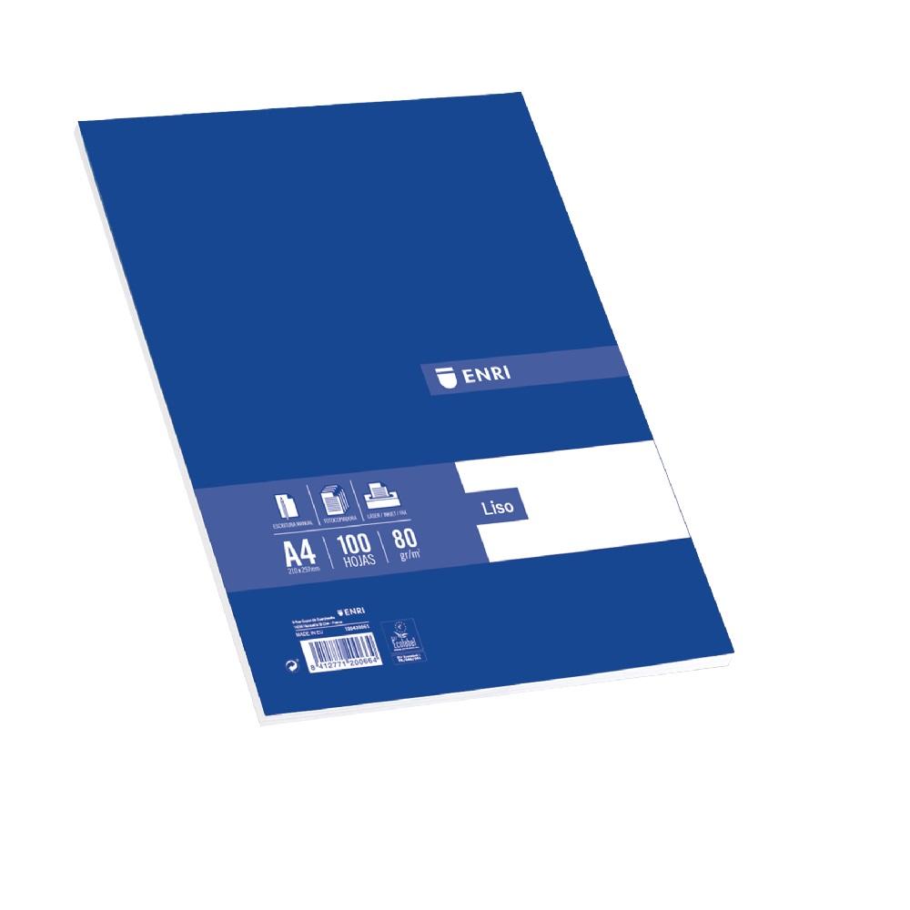 ENRI Paper A4 100 fulles 80 g llis Enri