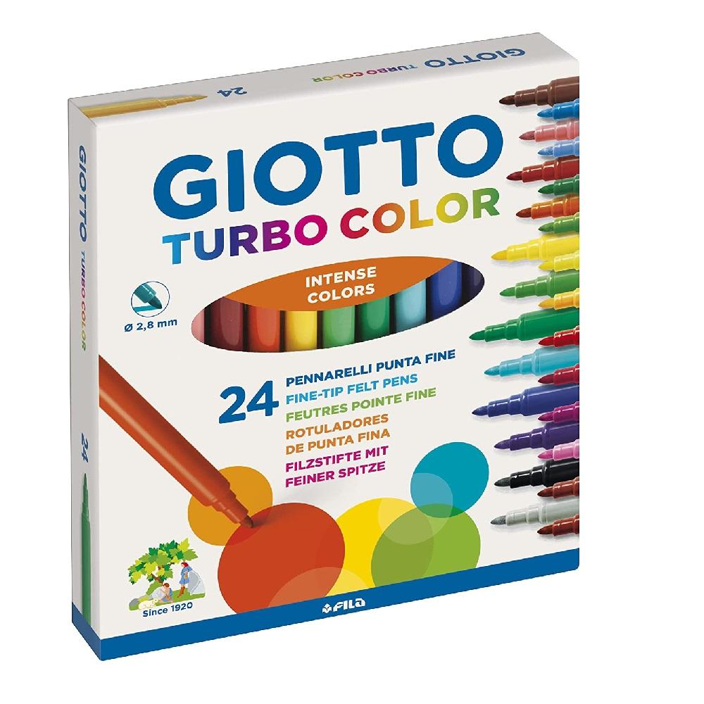 24 Retoladors Turbo Color