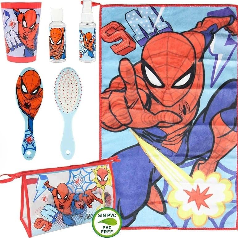 L'Anigò Necesser Escolar Spiderman (6 Pcs)