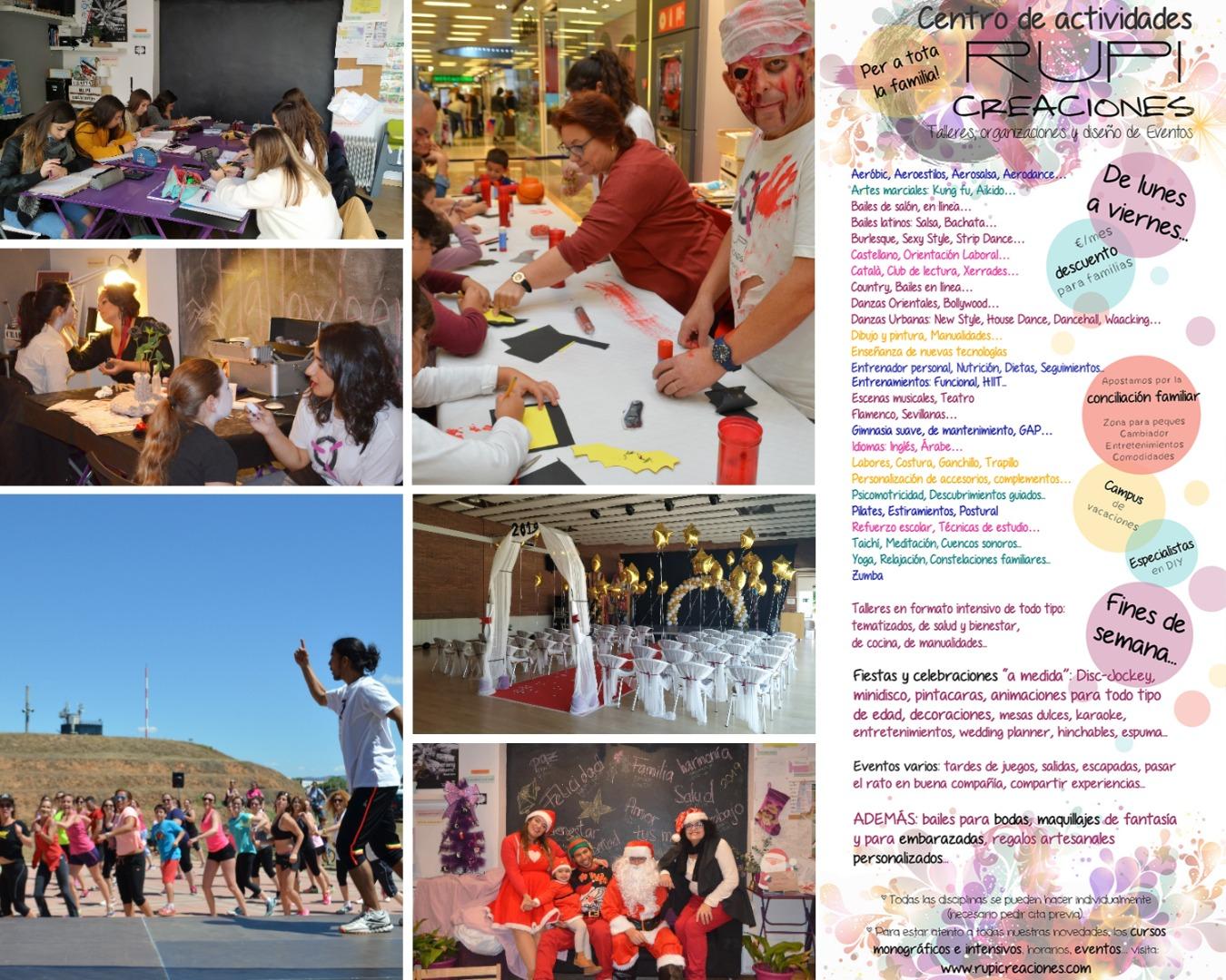 Catálogo de actividades Rupi Creaciones