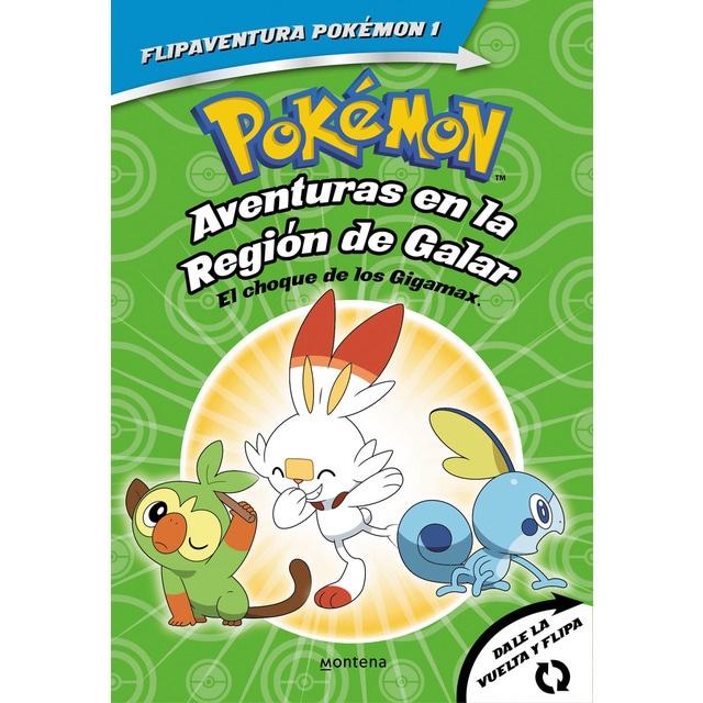 Libro Pokémon. Aventures en la Regió Galar.