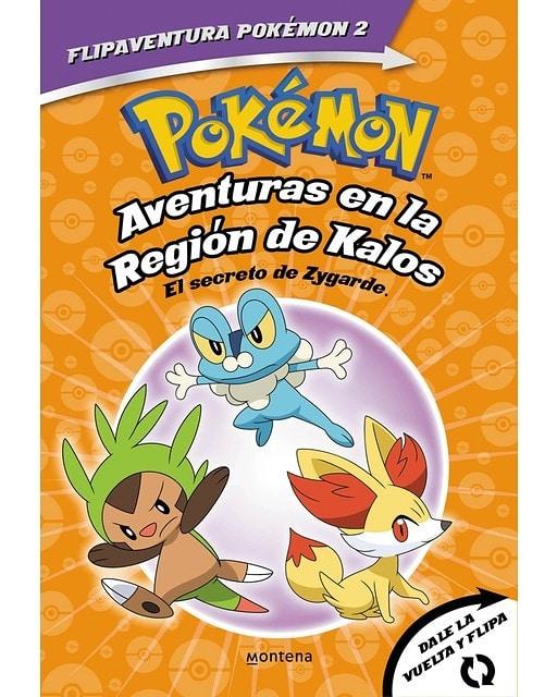Libro Pokémon. Aventures en la Regió Kalos