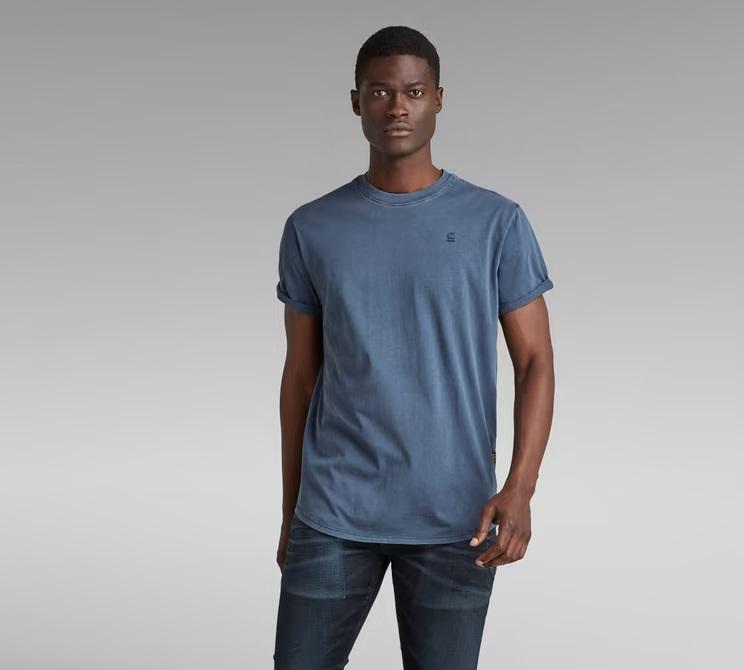 Camiseta-G-star-Azul