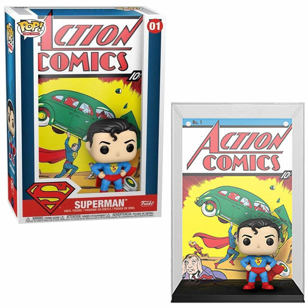 Figura POP Comic Cover DC Superman Action Comic