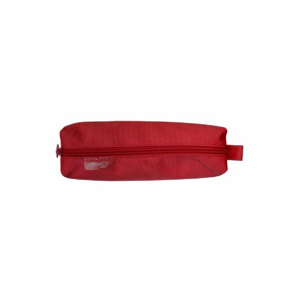 Estuche básico cuadrado rojo Fraga