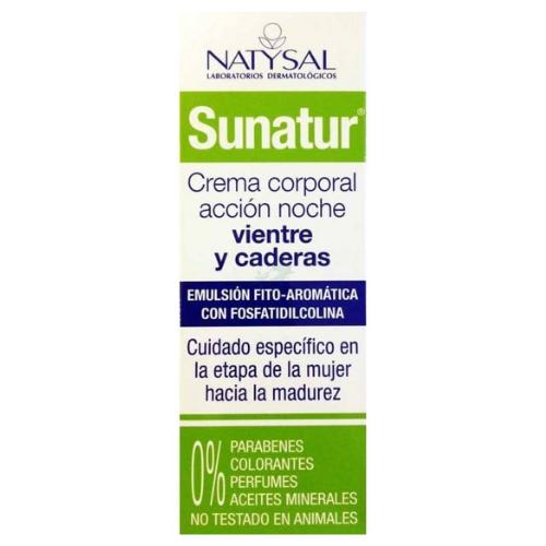 Sunatur Crema Reductora Intensiva Noche