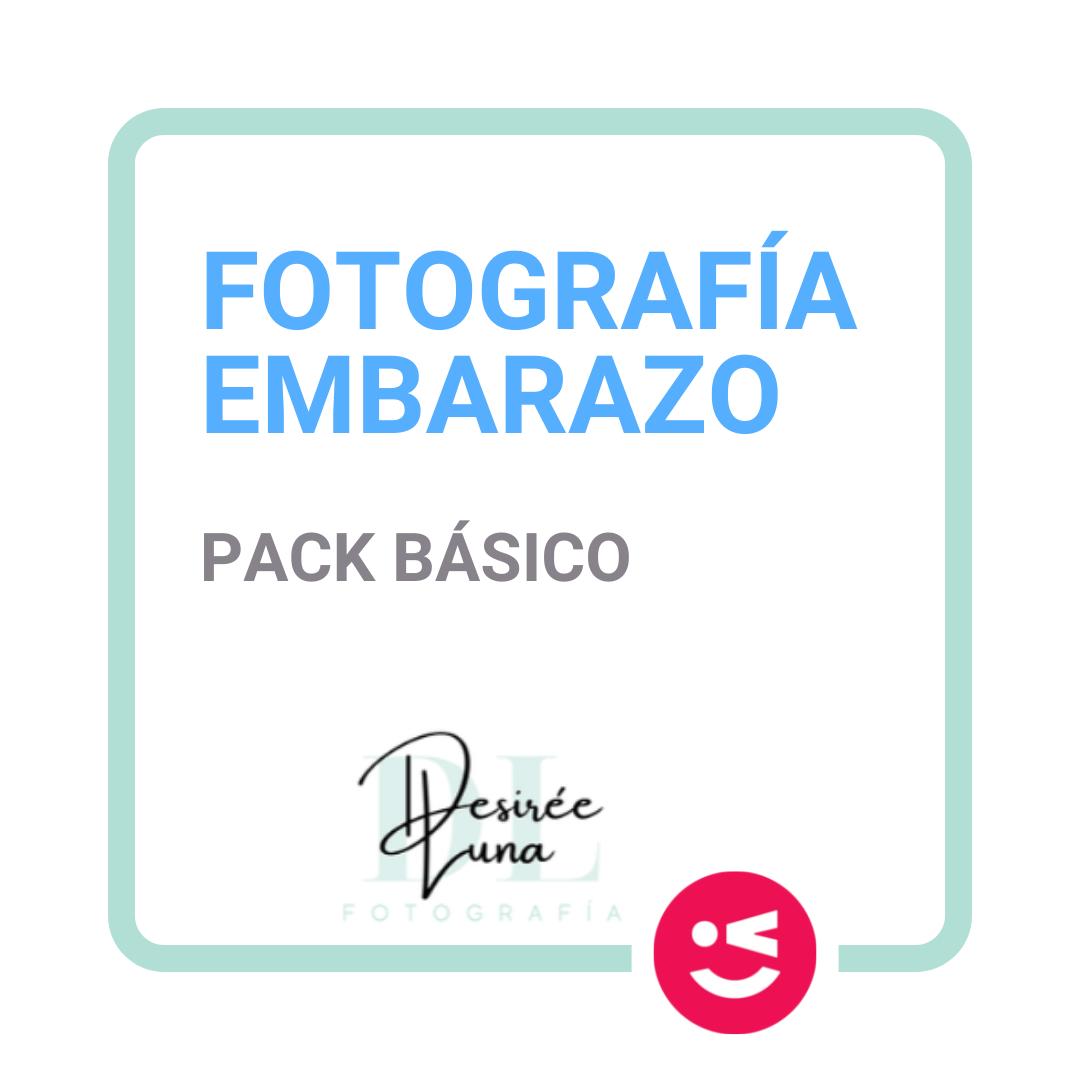 Pack básico fotografía Embarazo