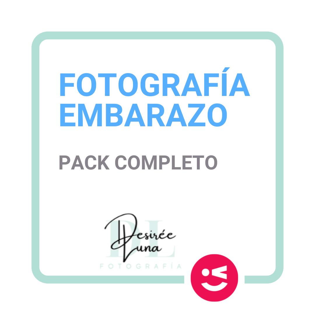 Pack completo embarazo fotografía