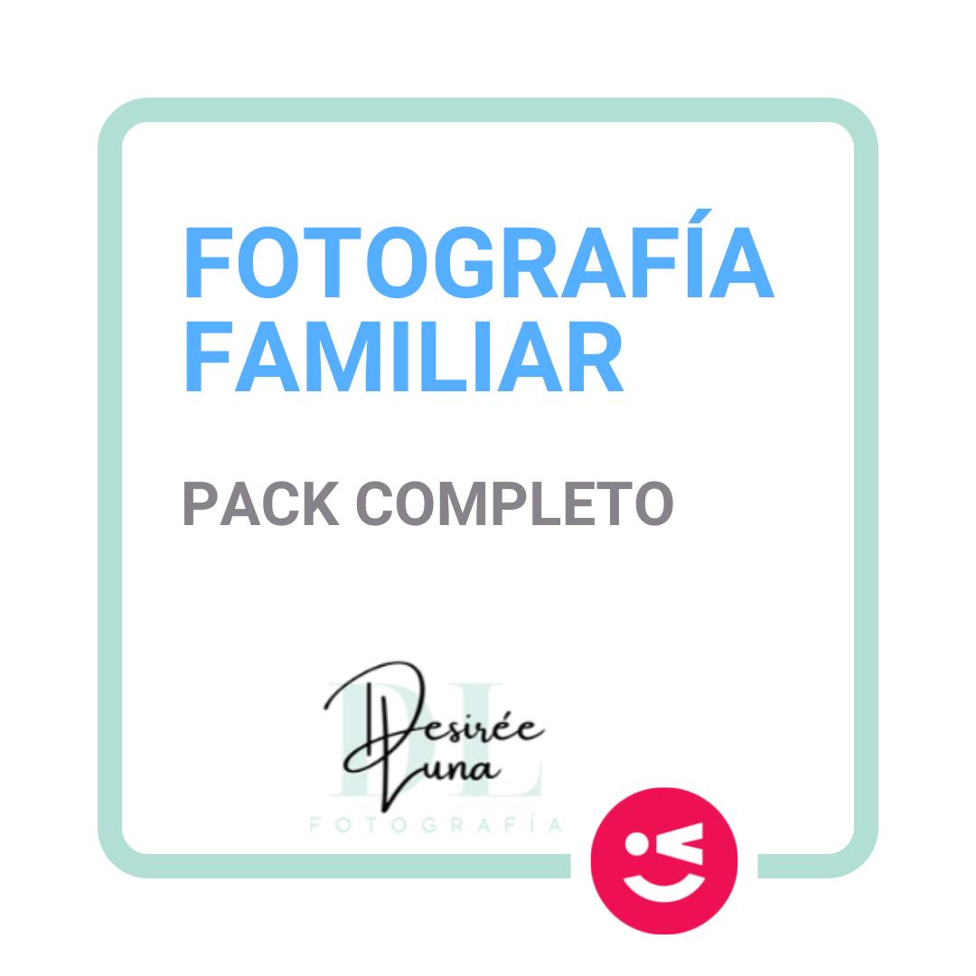 Pack Completo Familia Fotografia