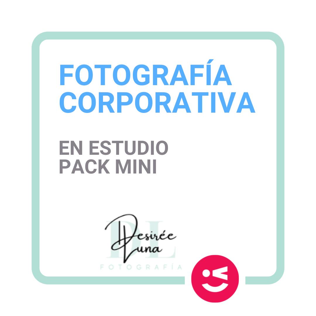 Fotografía corporativa en estudio