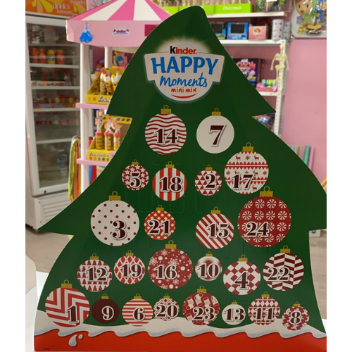 Arbre calendari d'advent Kinder