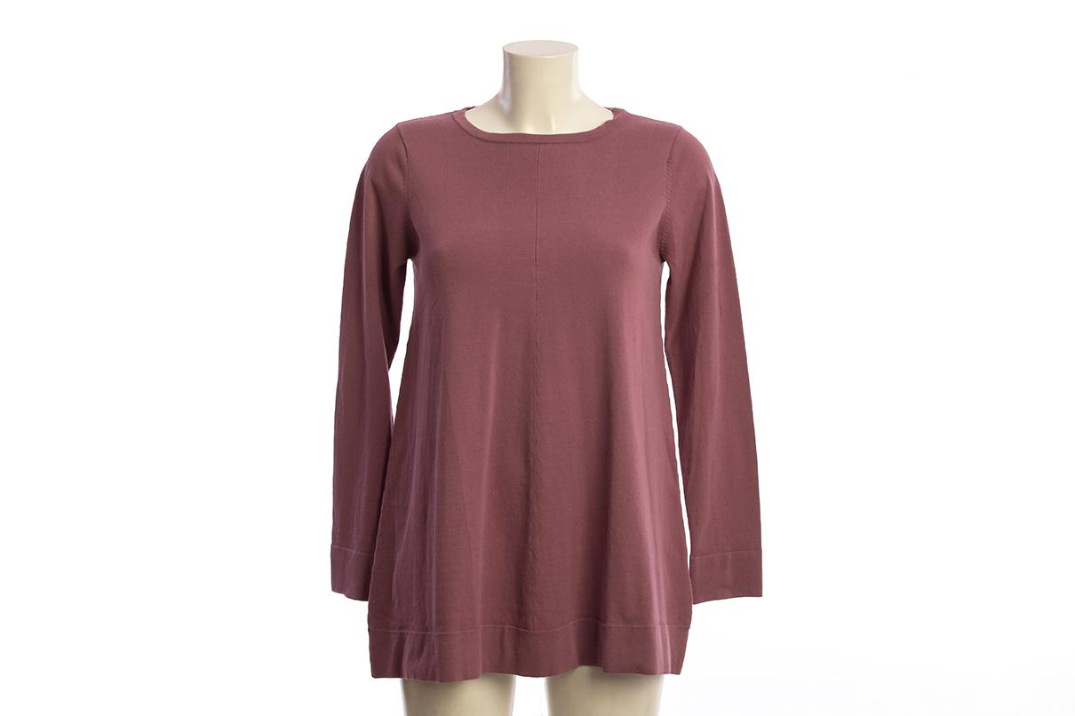 Jersey de punto color rosa maquillaje
