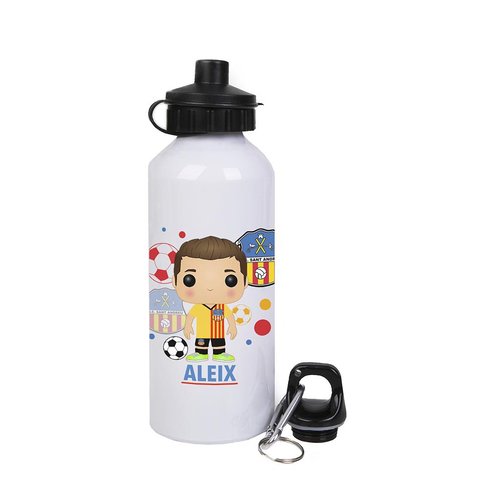 Botella de aluminio de 500ml personalizada