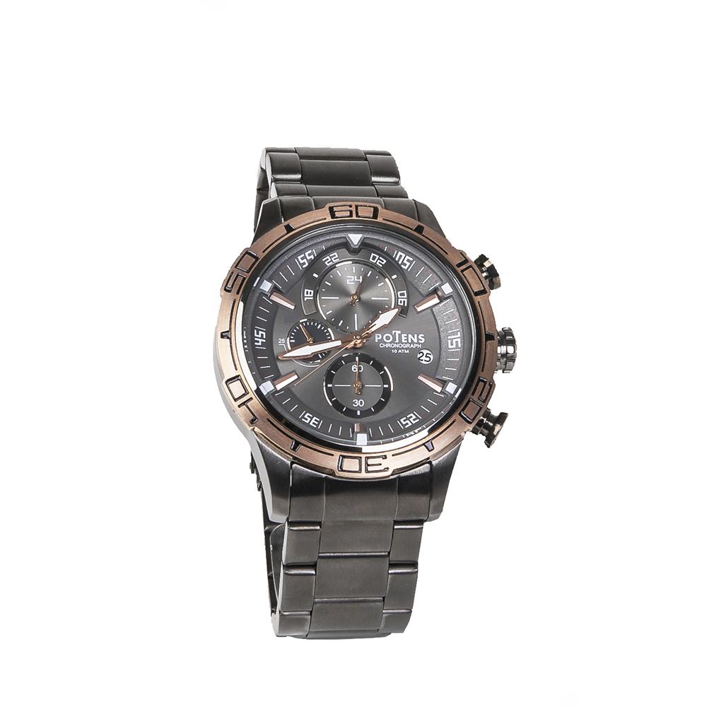 Reloj de hombre en acero