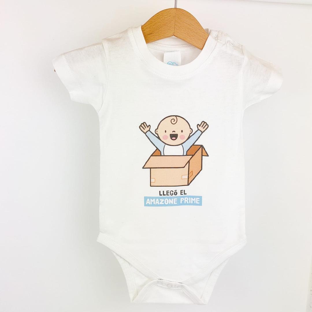 Body de bebé con Dibujo Amazon