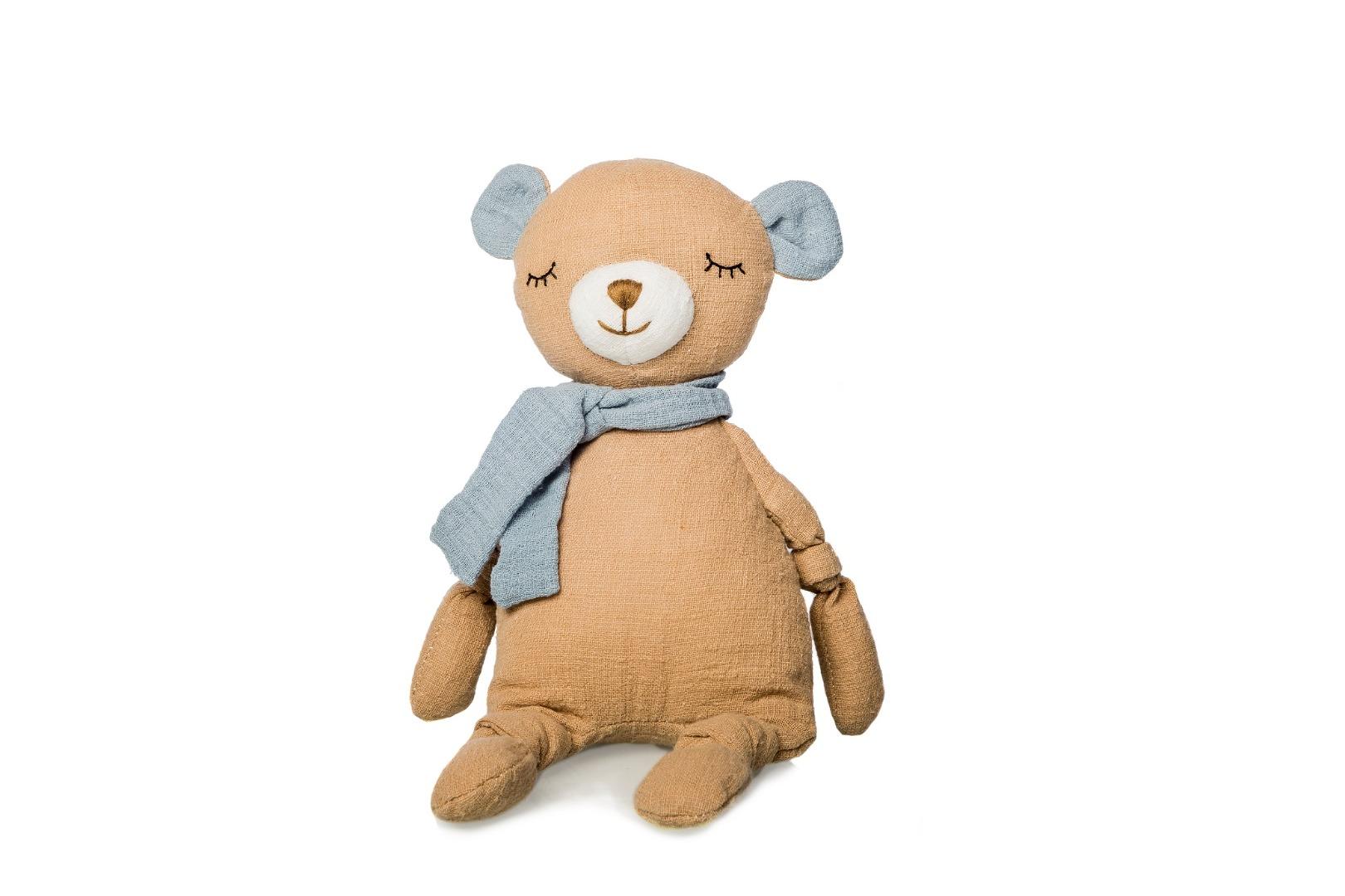 Peluche de oso de algodón para bebé