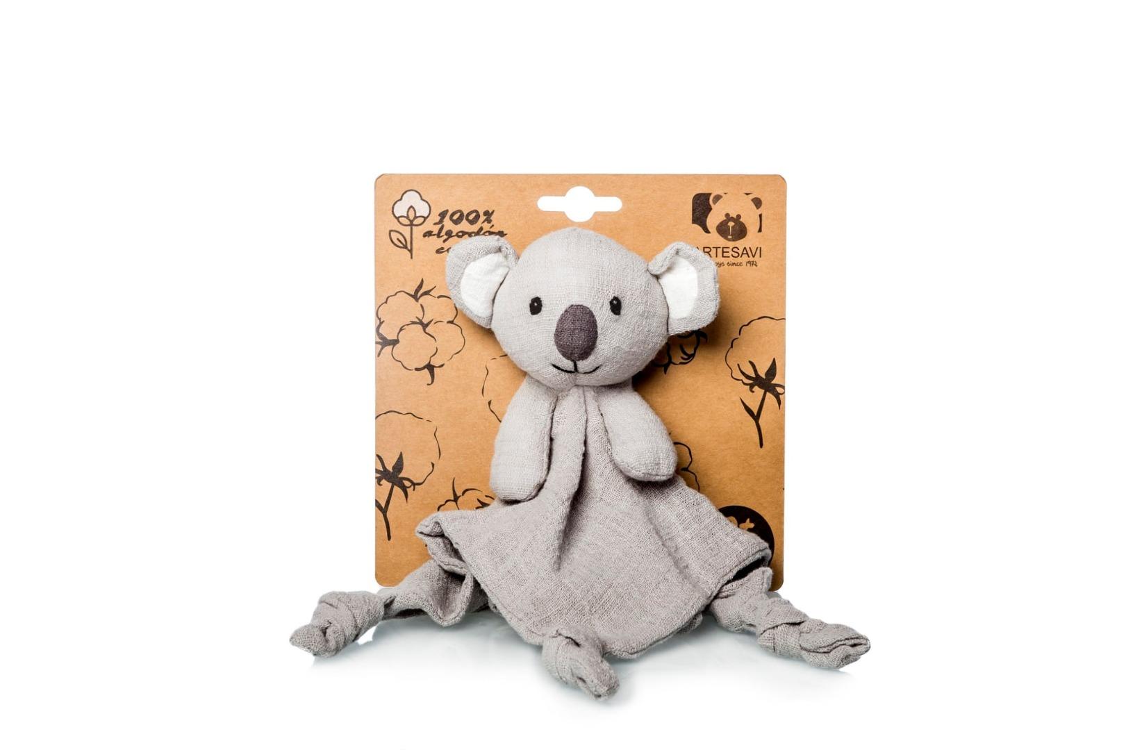 Doudou Koala gris