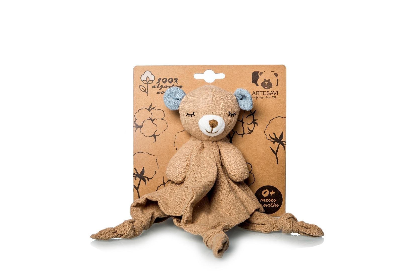 Doudou marrón de oso