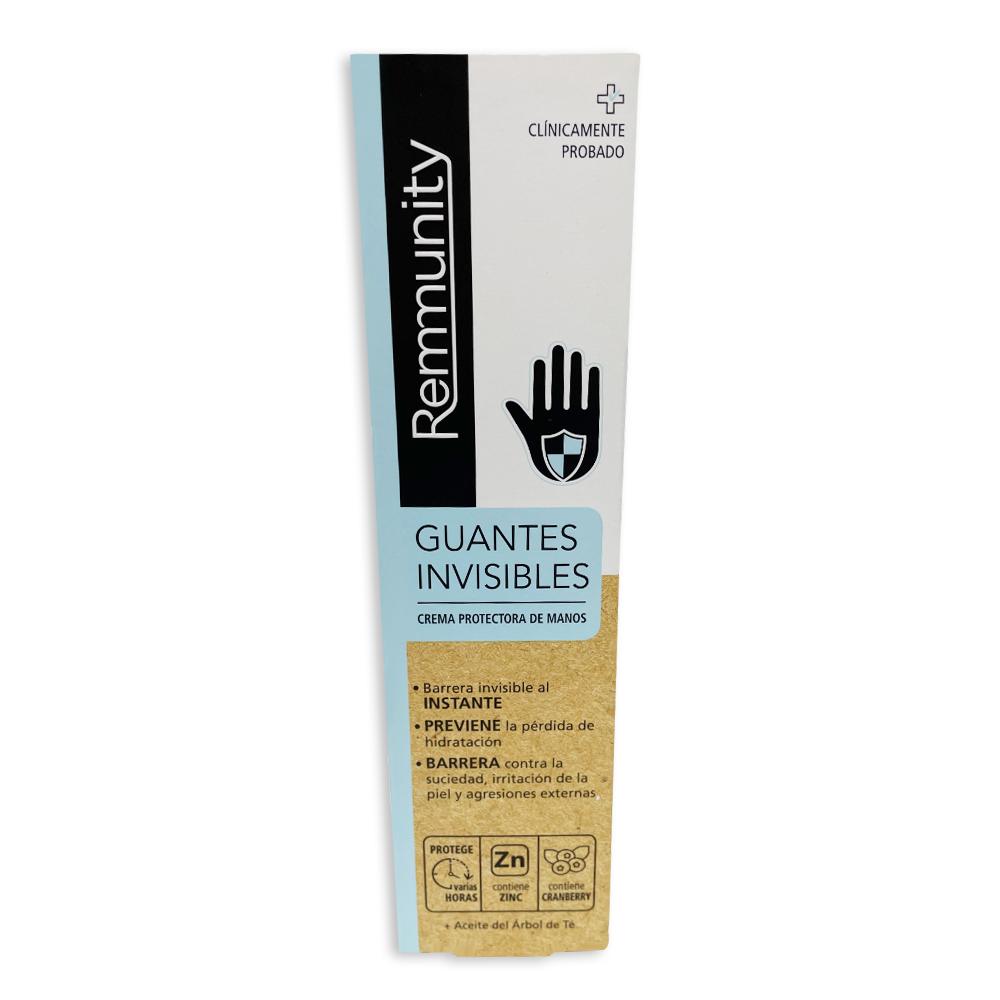 Guants invisibles: crema protectora de mans 100