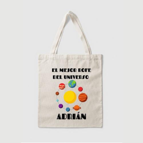 Tote bag personalizable para profesor