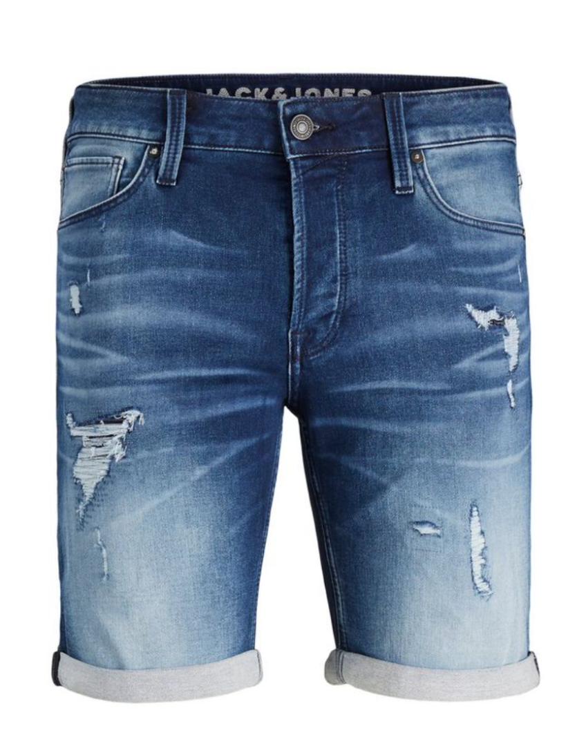 Pantalones tejanos cortos de hombre