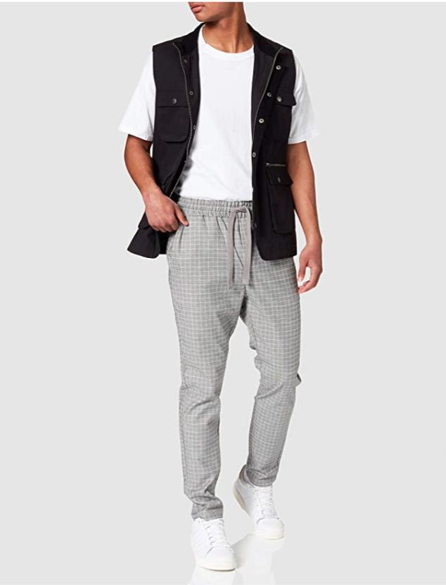 Pantalones de hombre en color gris