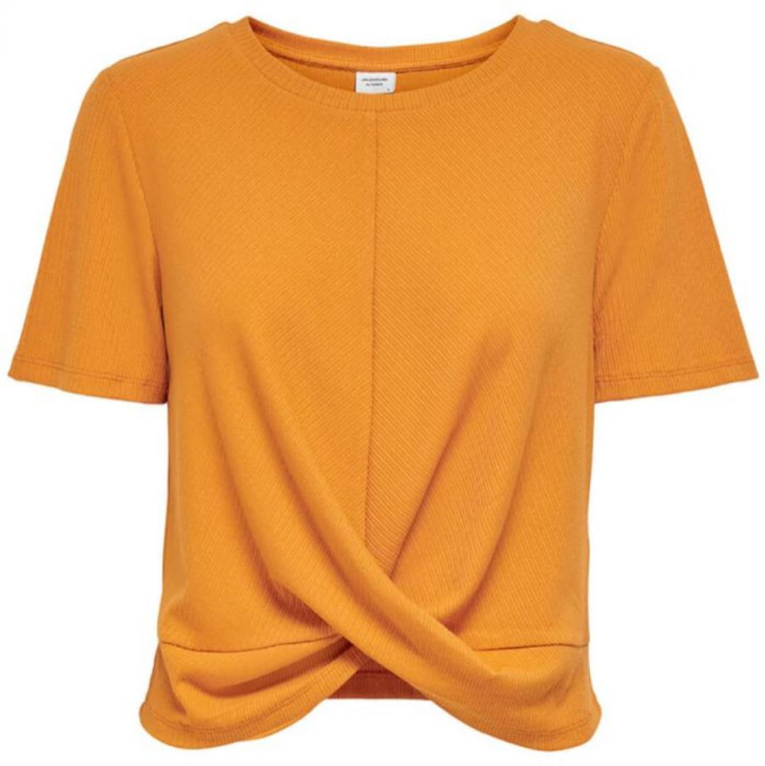 Camiseta de mujer en color naranja
