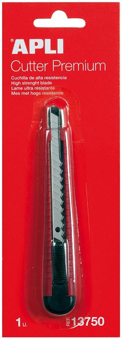 Cúter Premium 9mm blister 1u Apli