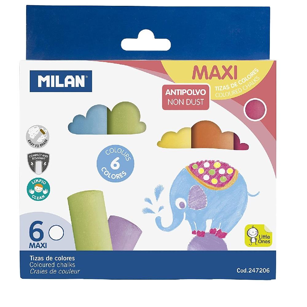Guix rodona jumbo colors assortits 6u MAXI  Milan