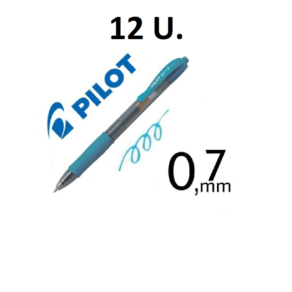 12 BOLIGRAFS G-2 BLAU CLAR