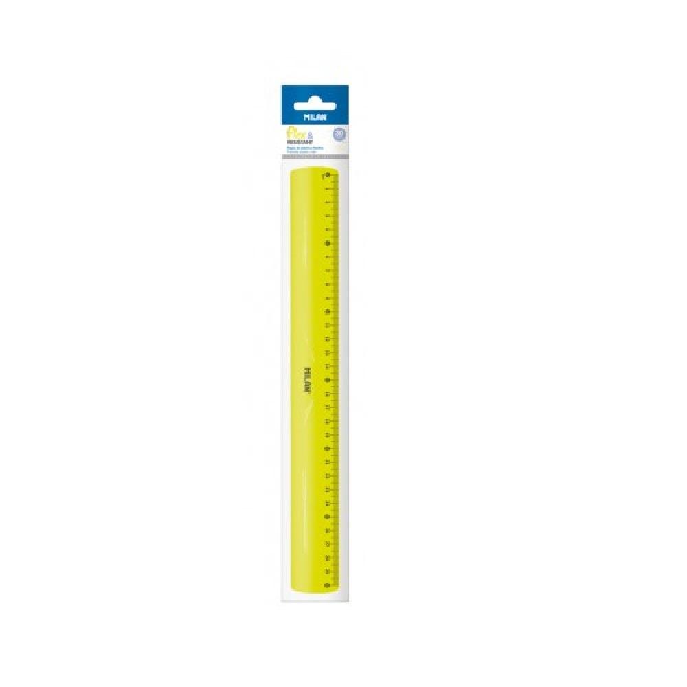 Regla 30cm Flexible Groc Cid