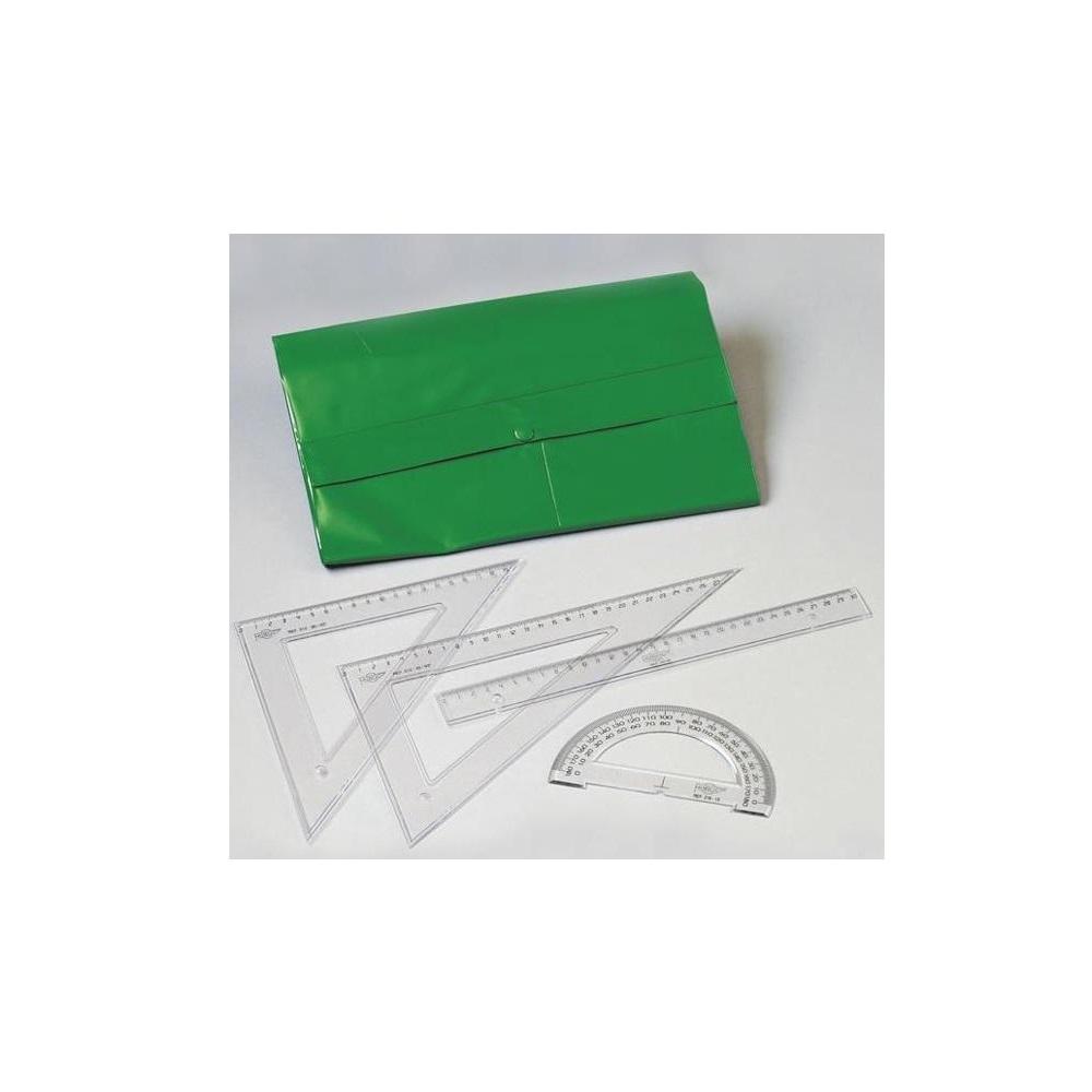 Conjunto de reglas de 30cm con bolsa