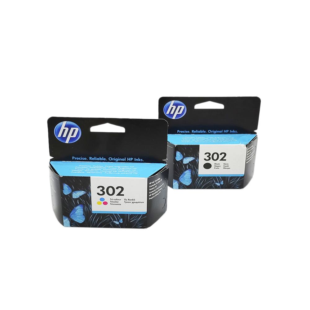 HP 302 Negre + Color