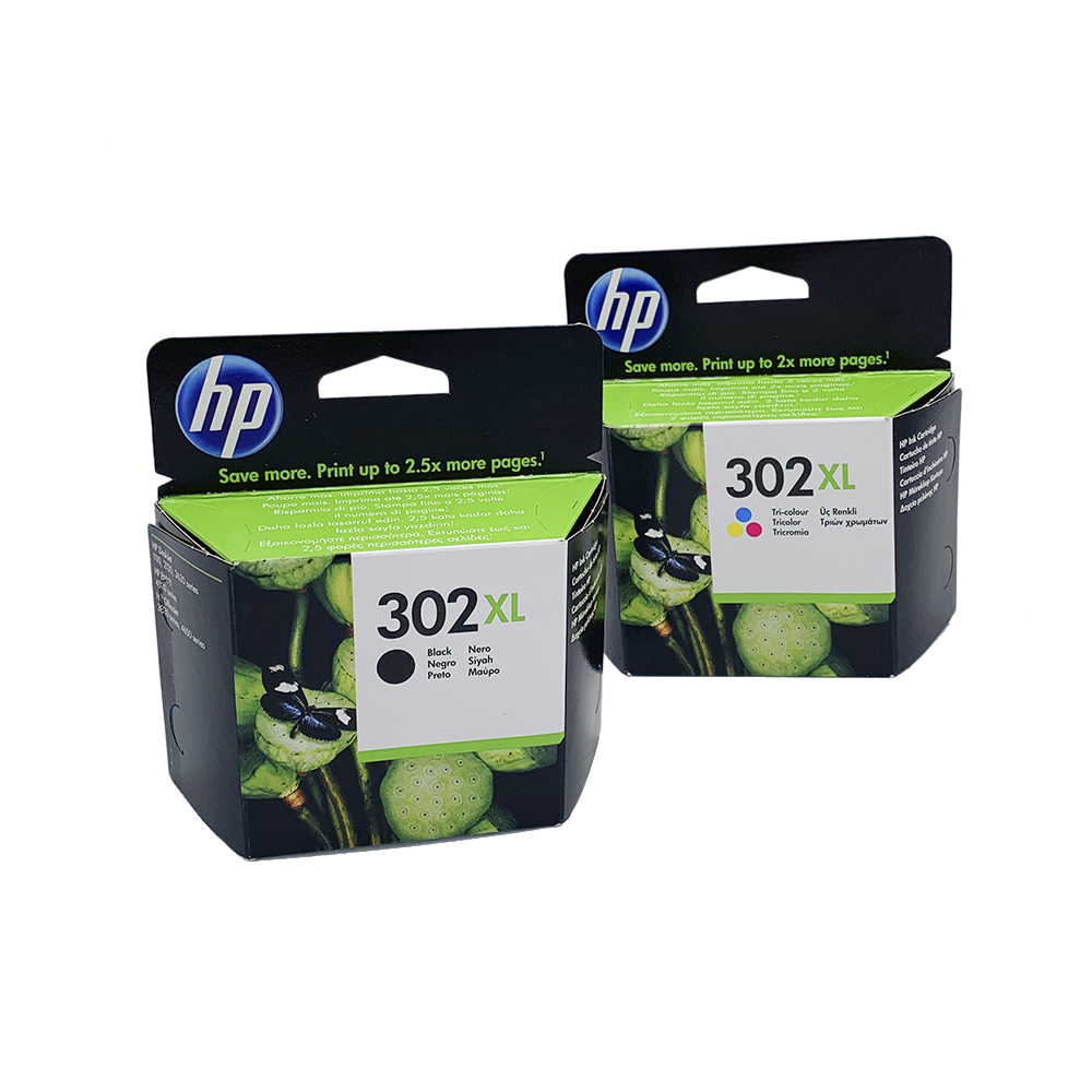HP 302XL NEGRO + TRICOLOR