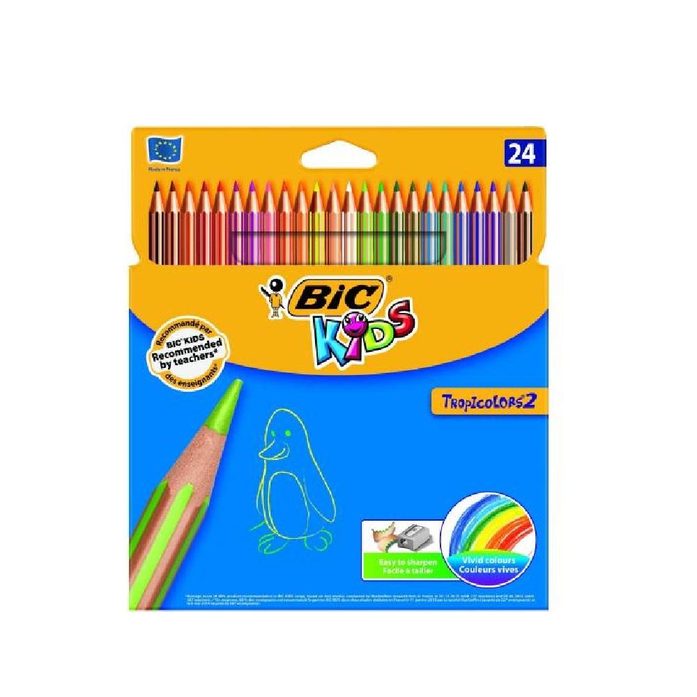 Llapis colors de resina Tropicolors 2 24u