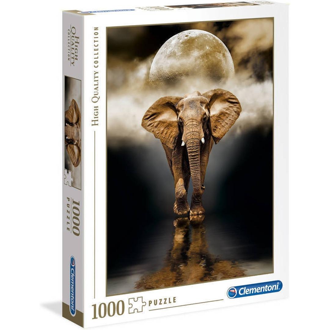 L'Anigò Puzzle Clementoni L`Elefant de 1000 Peces